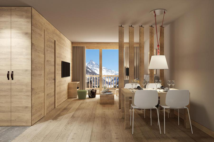 Location au ski Résidence Swisspeak Resorts Zinal - Zinal - Séjour