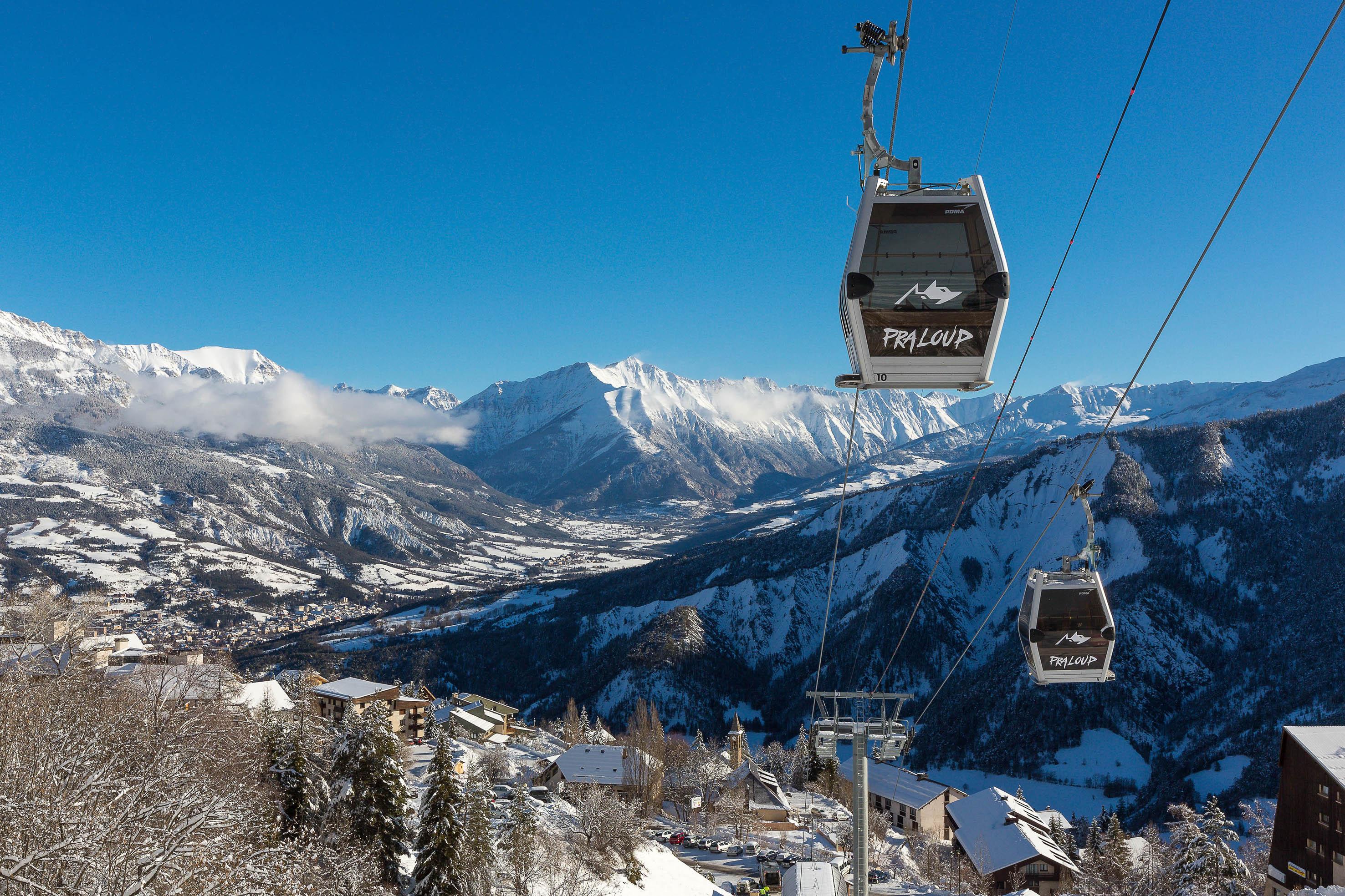 station ski Pra Loup