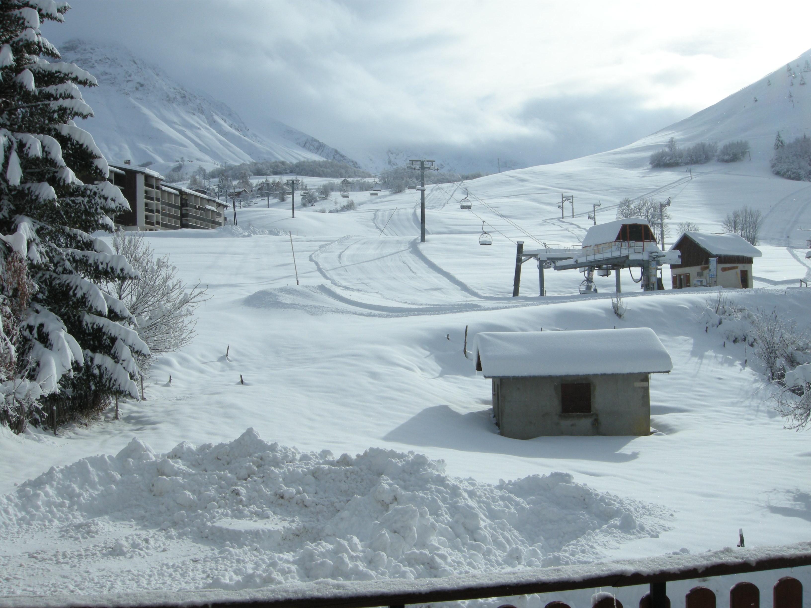 station ski Albiez Montrond