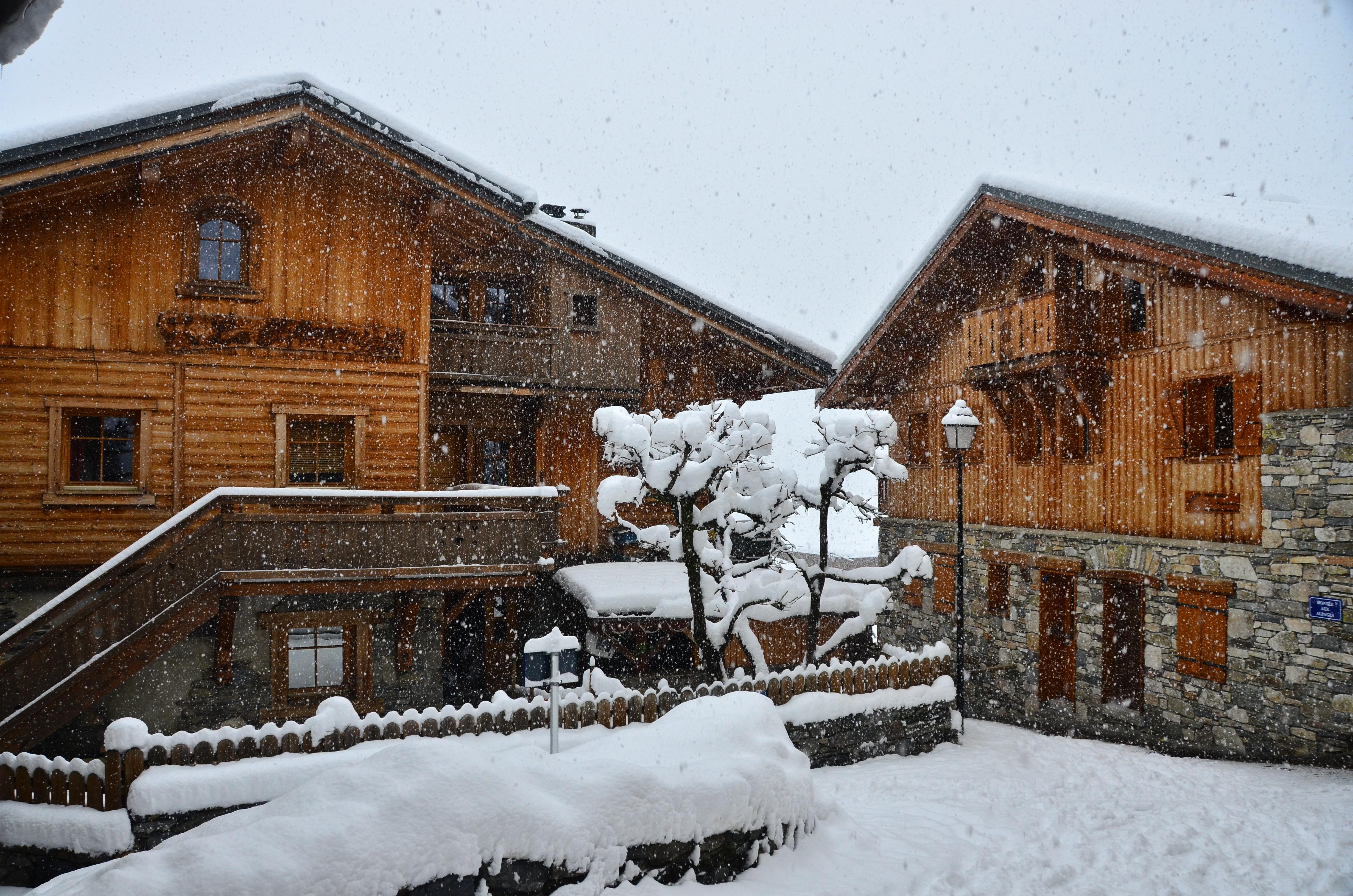 station ski Montchavin La Plagne