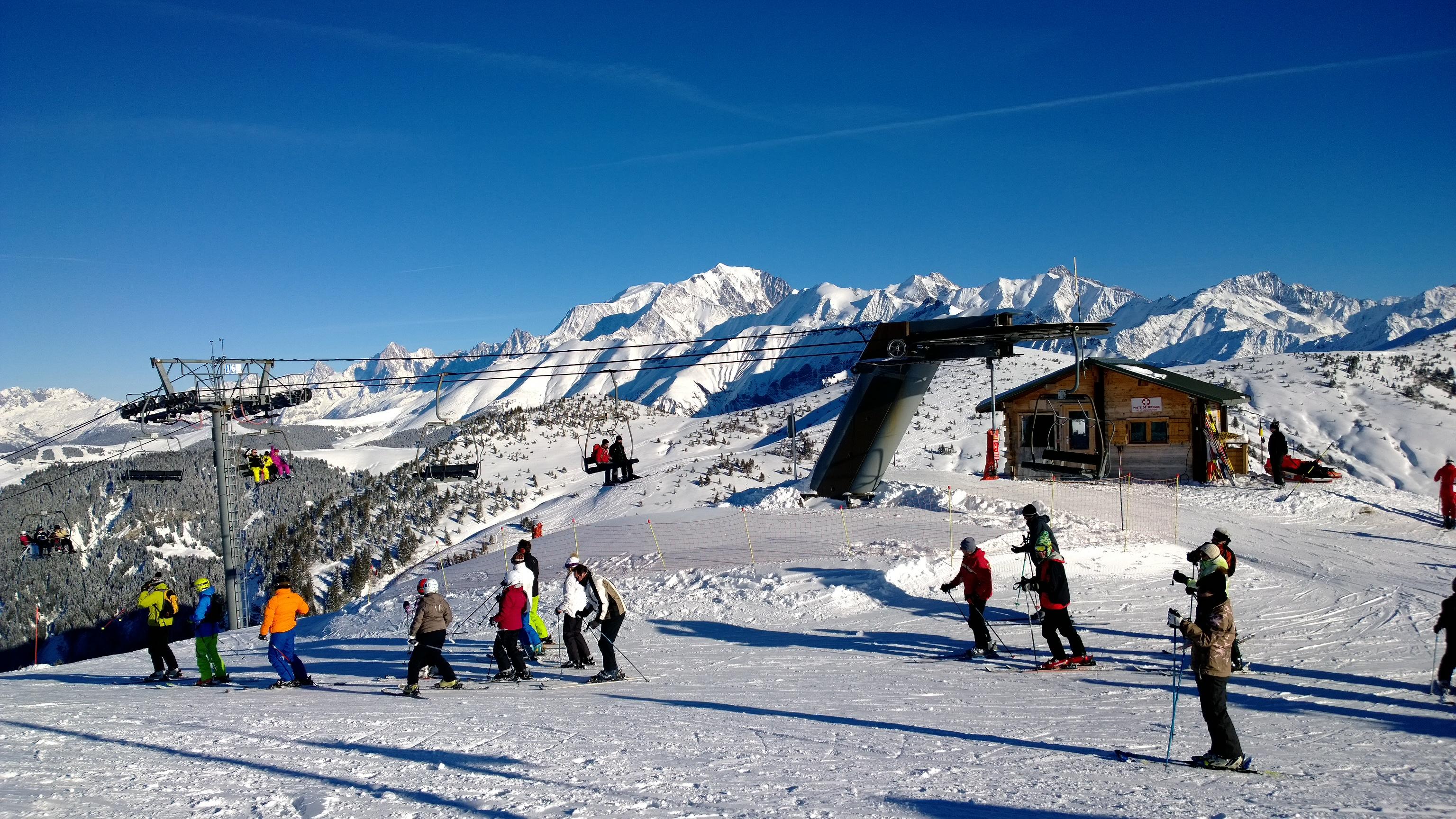 station ski Praz sur Arly