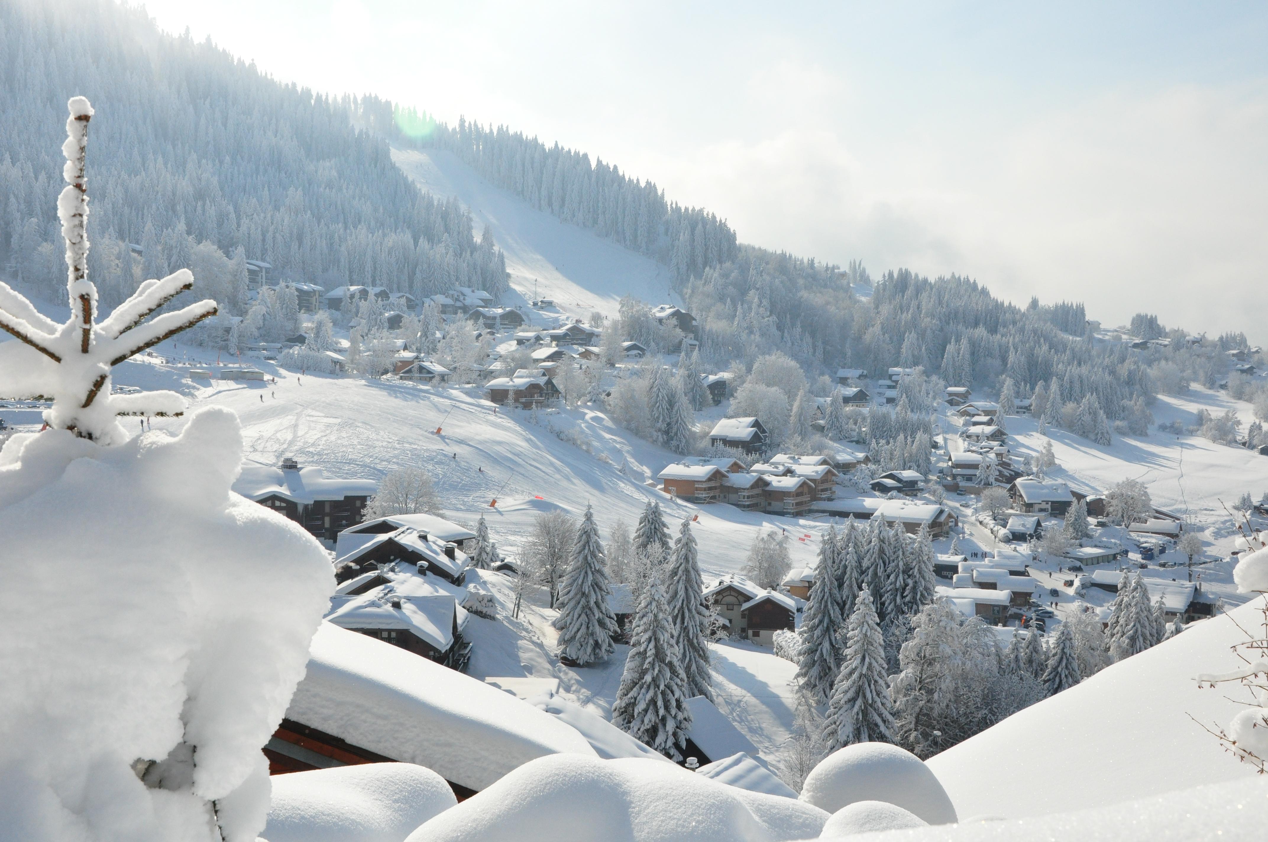 station ski Les Carroz