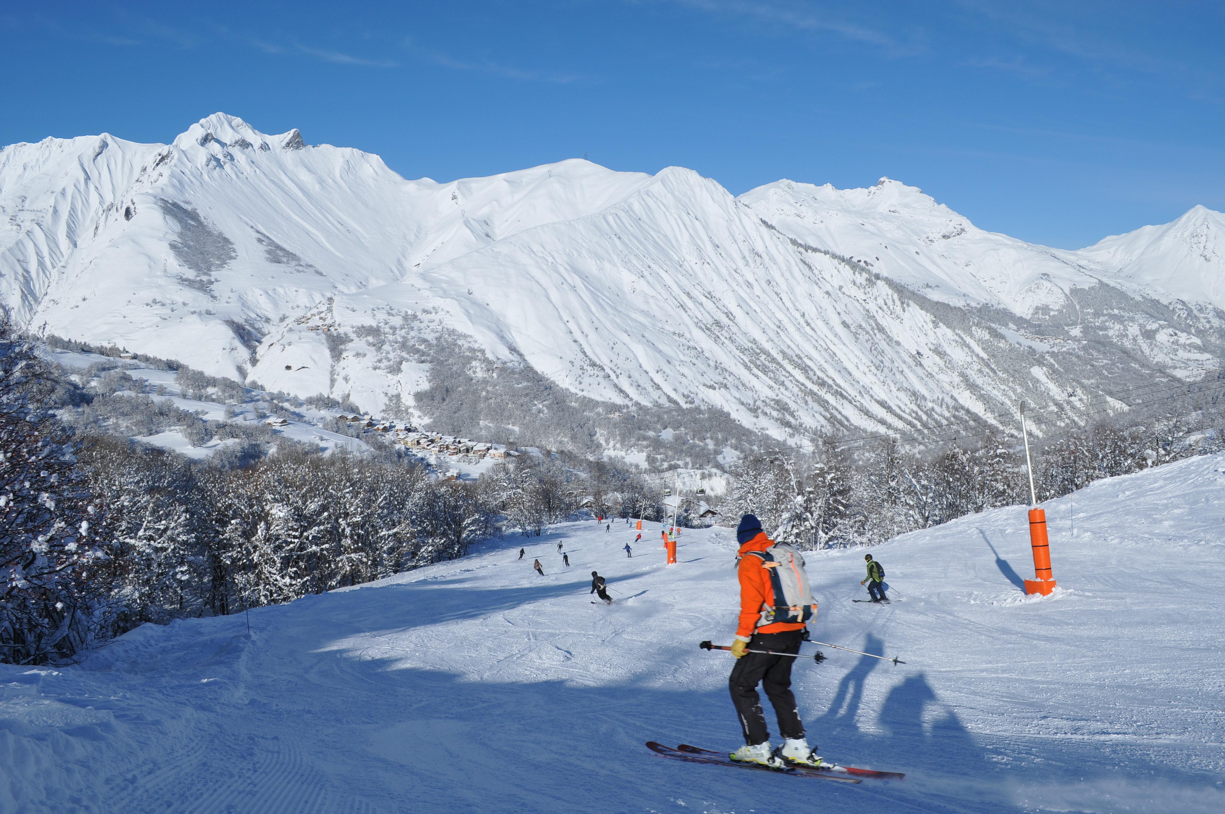 station ski Saint Martin de Belleville