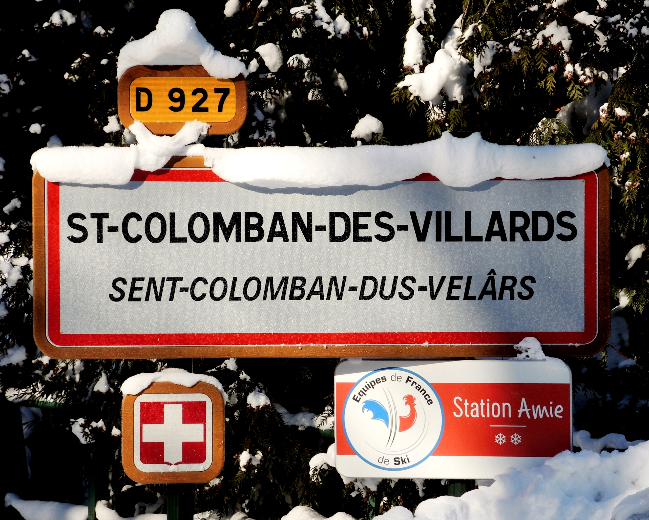 station ski Saint Colomban des Villards