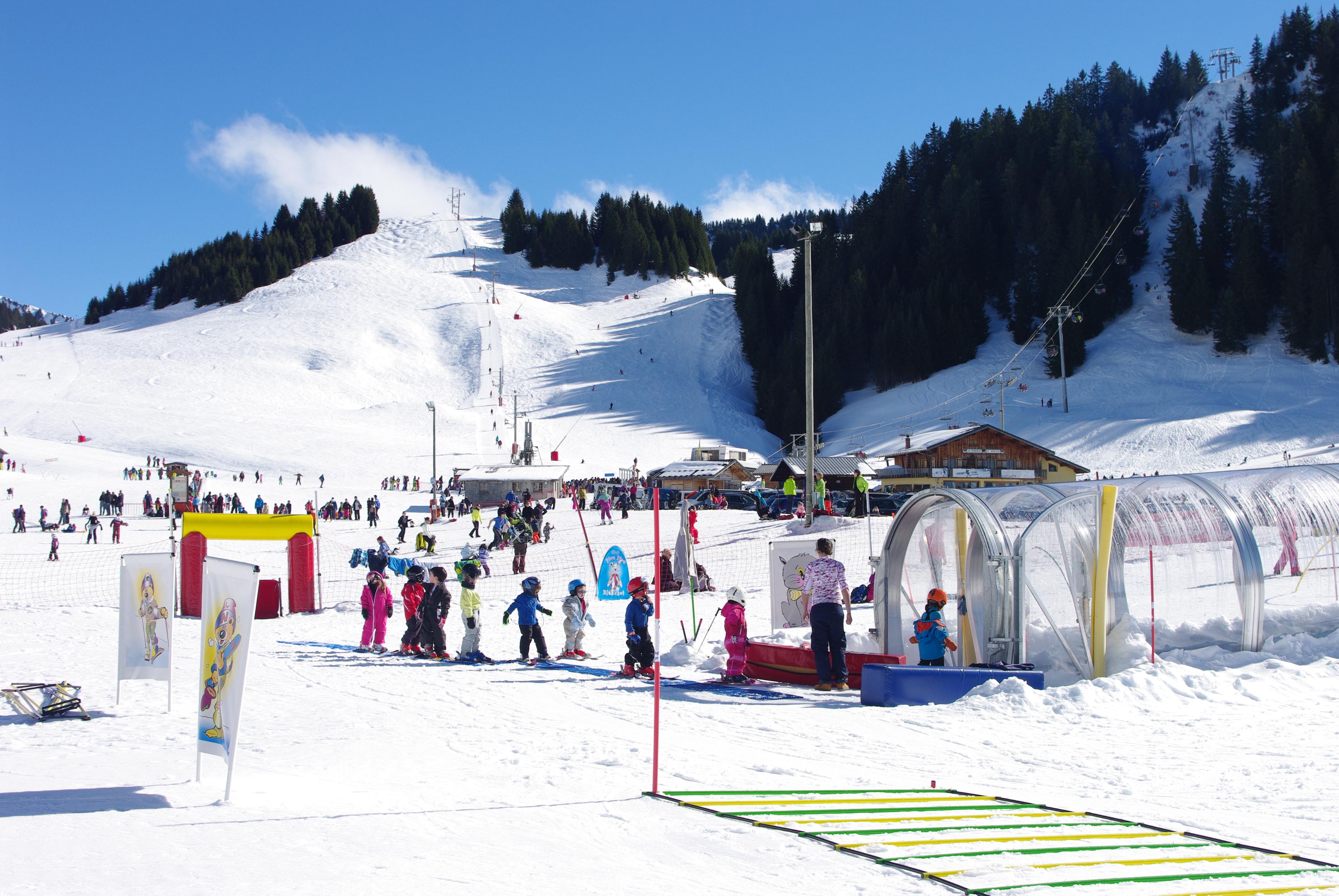 station ski Le Praz de Lys