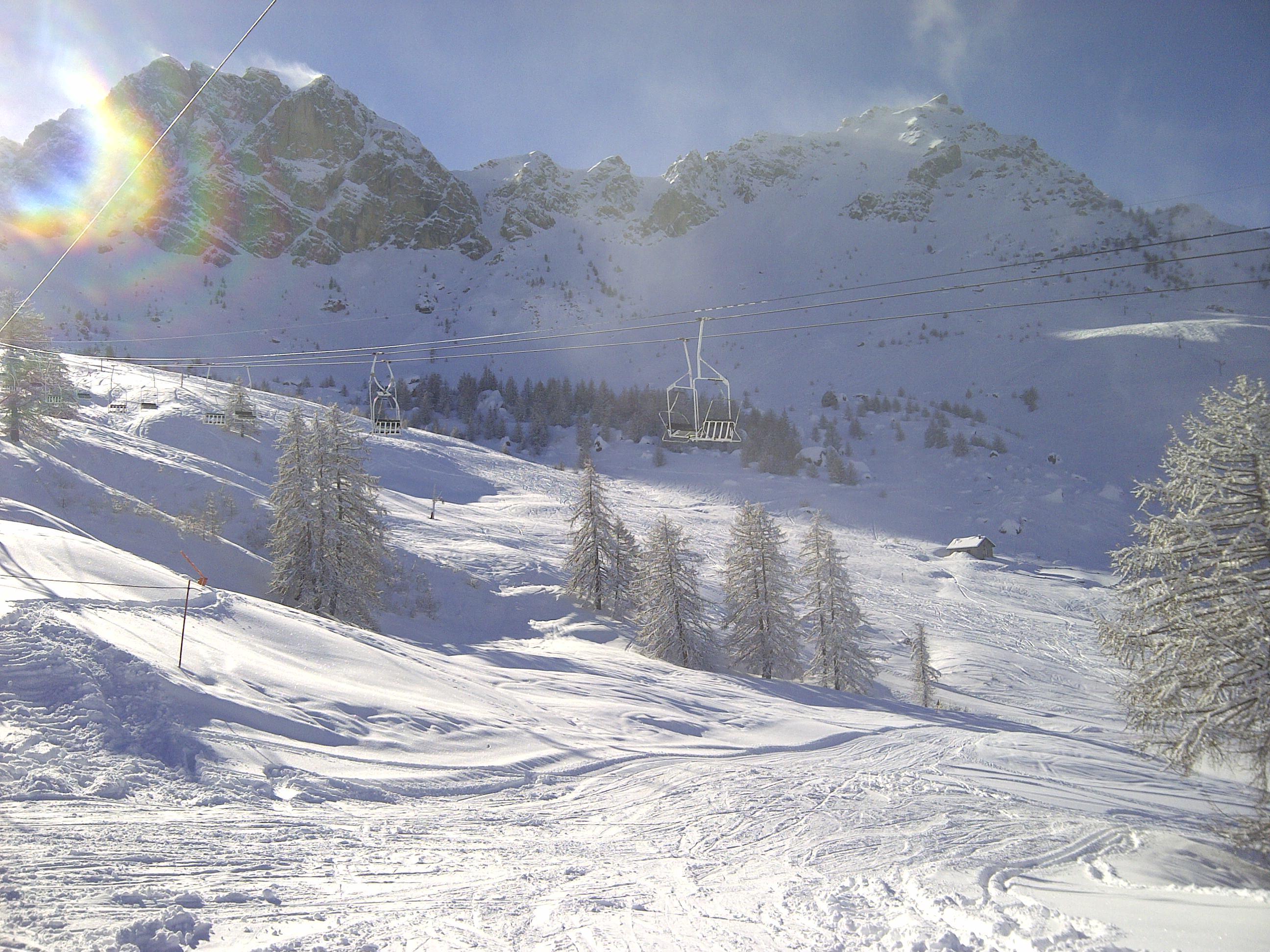 station ski Sauze - Super Sauze