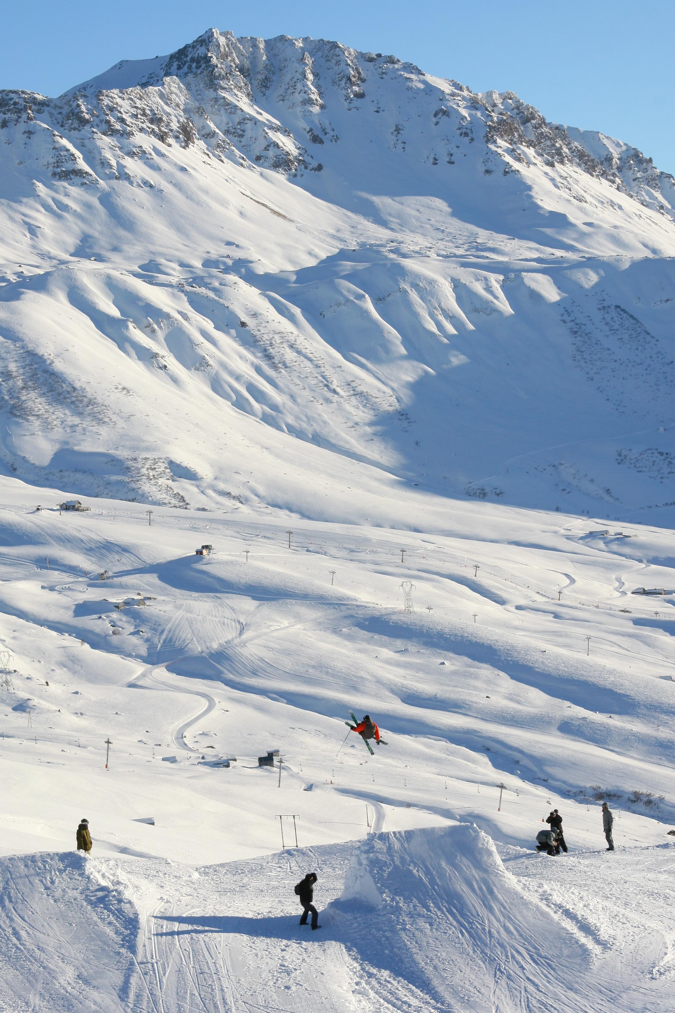 station ski Saint-François Longchamp