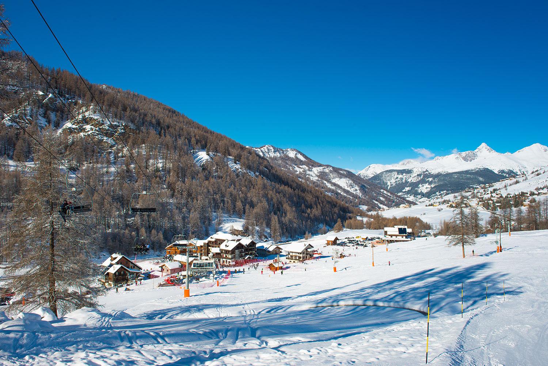 station ski Molines en Queyras