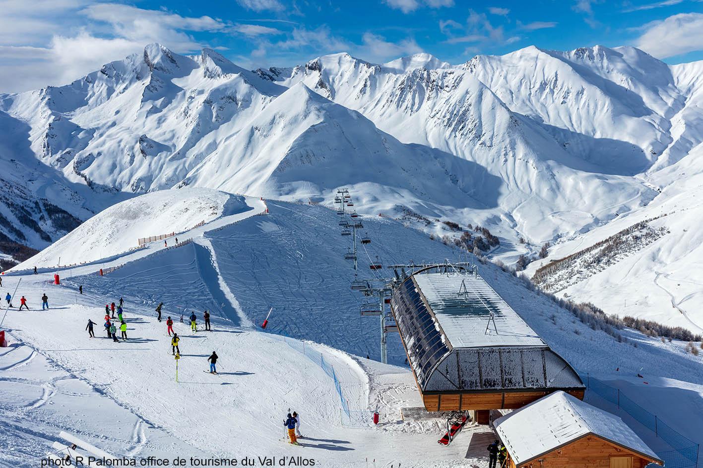 station ski Val d'Allos
