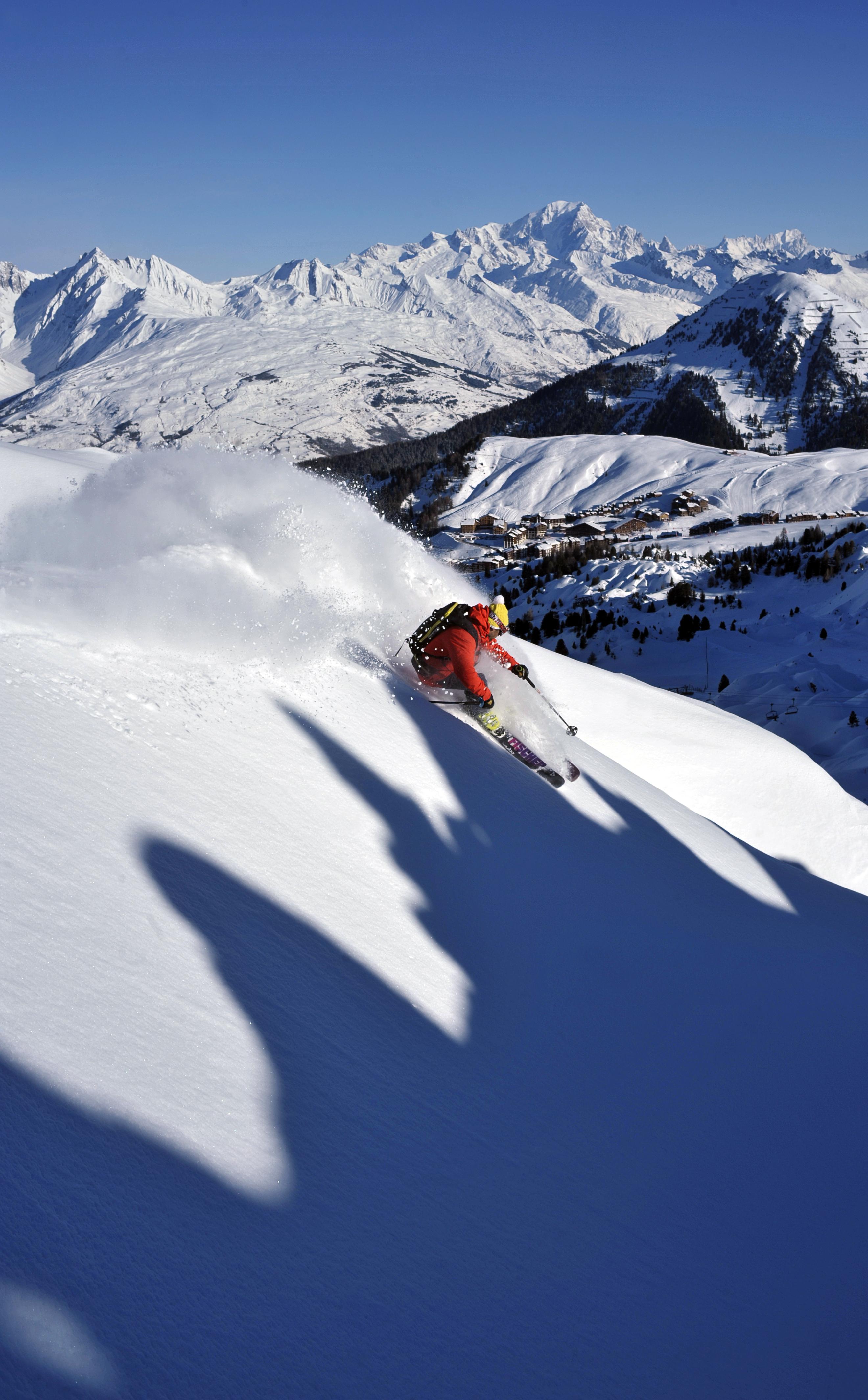 station ski La Plagne