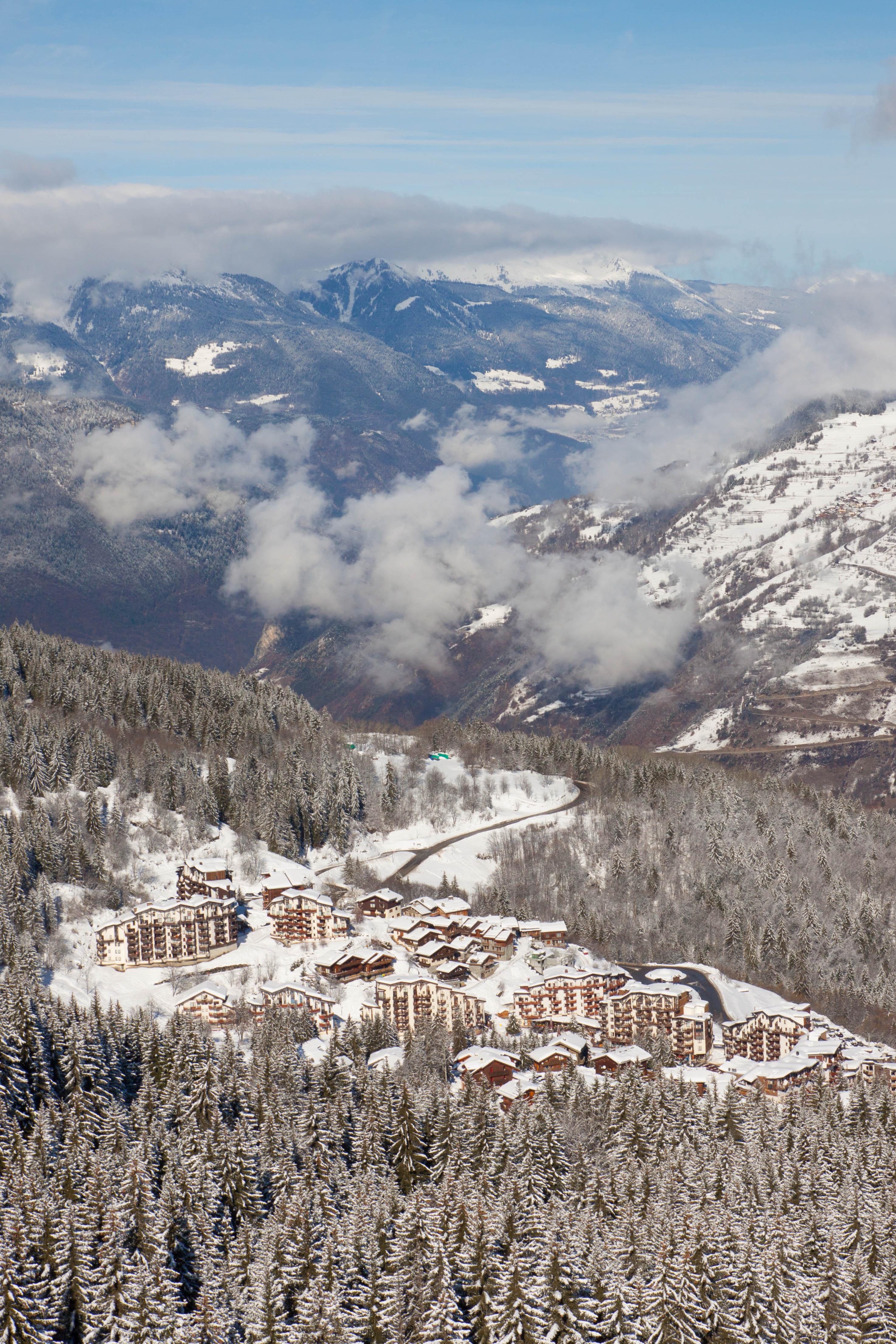 station ski La Tania