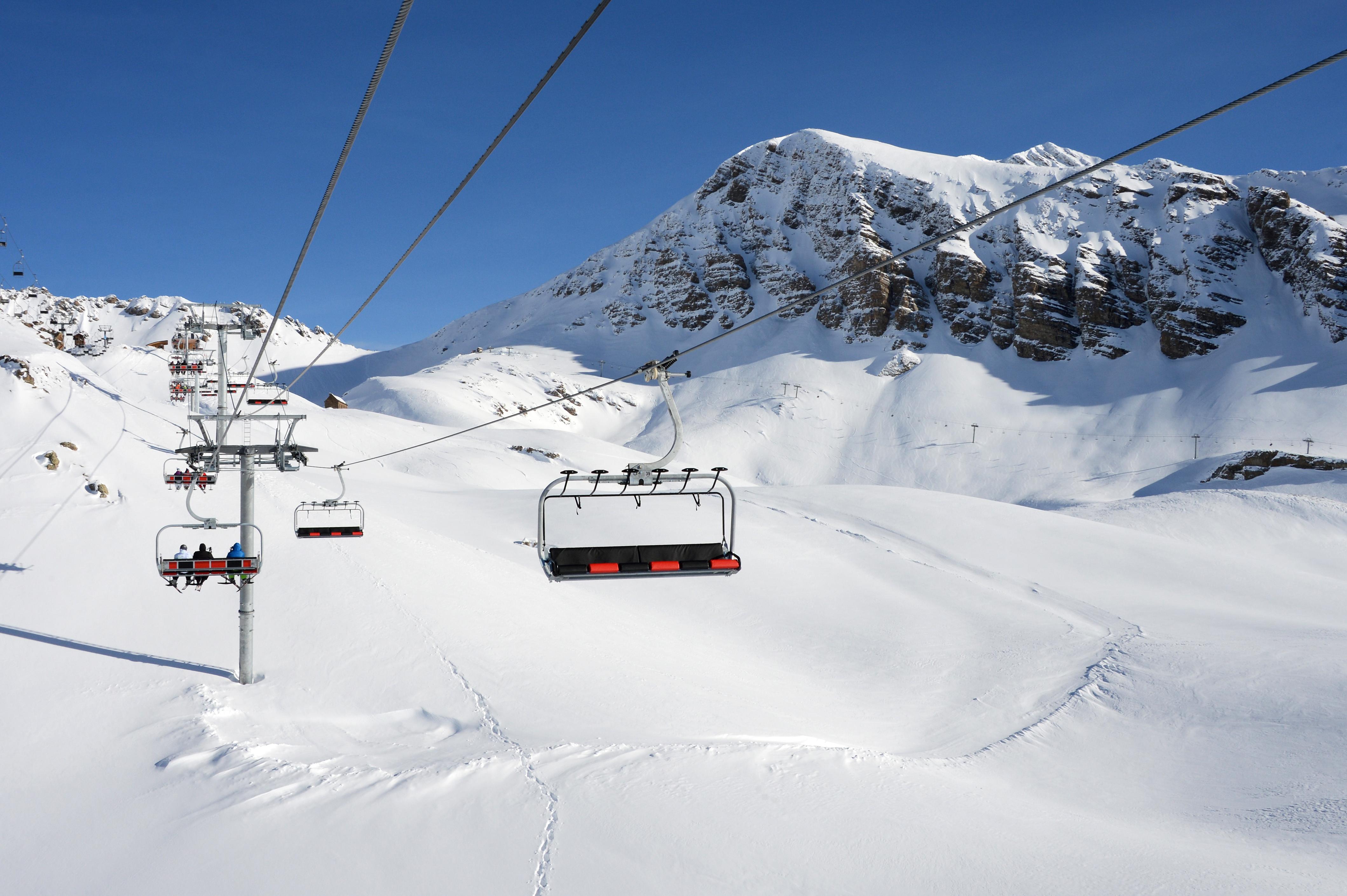 station ski Orcières Merlette 1850