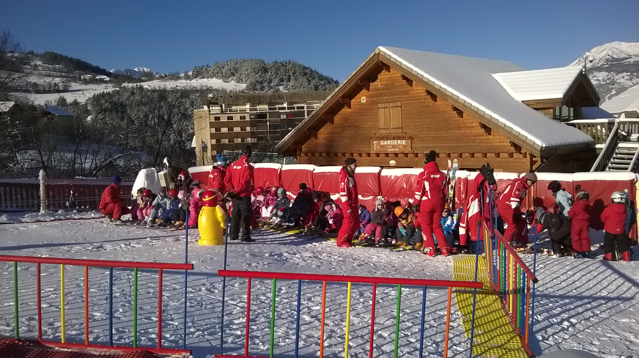 station ski Sauze - Super Sauze