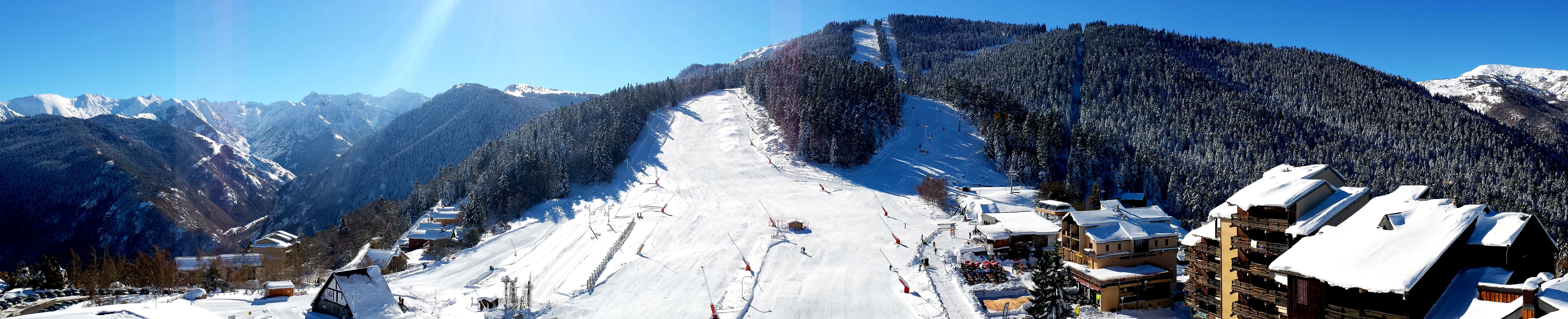 station ski Ax-Les-Thermes