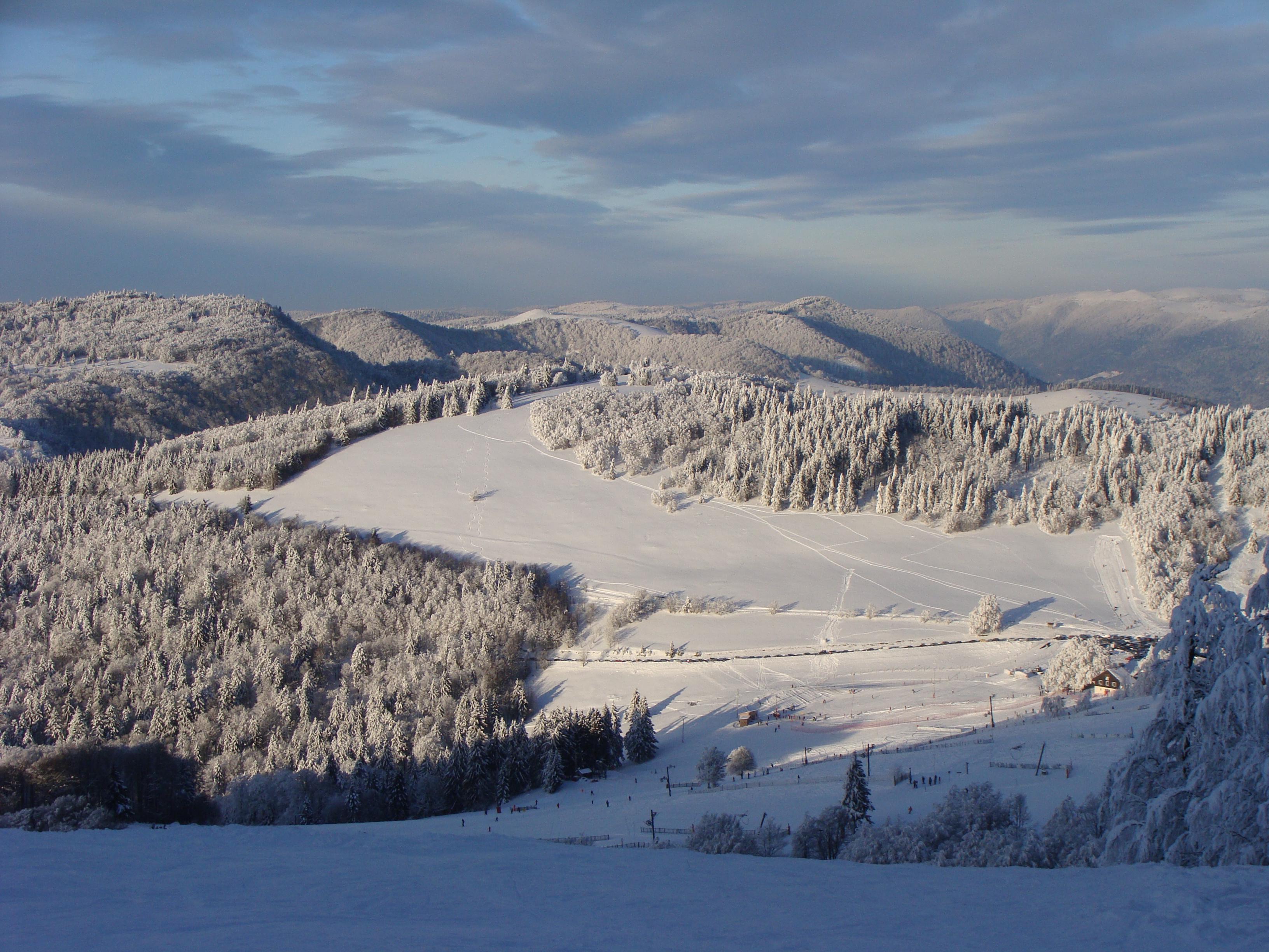 station ski Saint Maurice sur Moselle