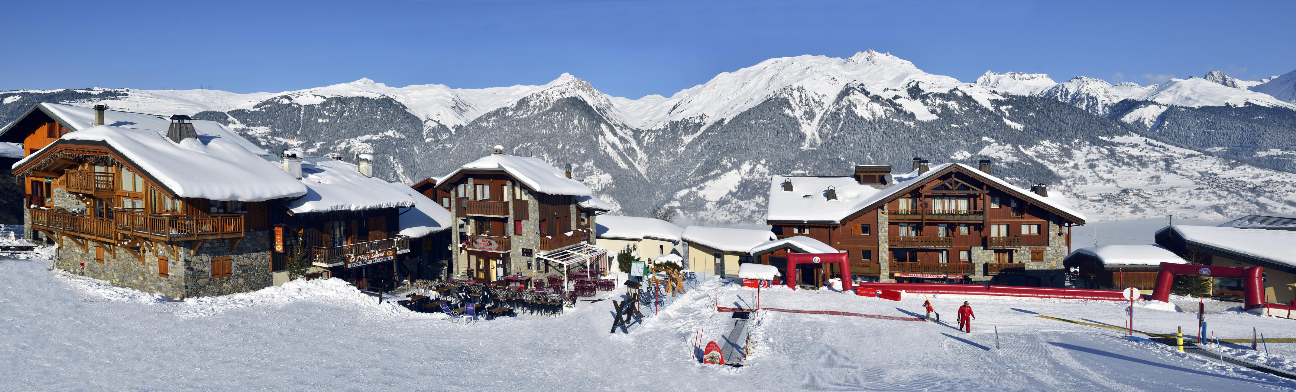 ski resort La Plagne
