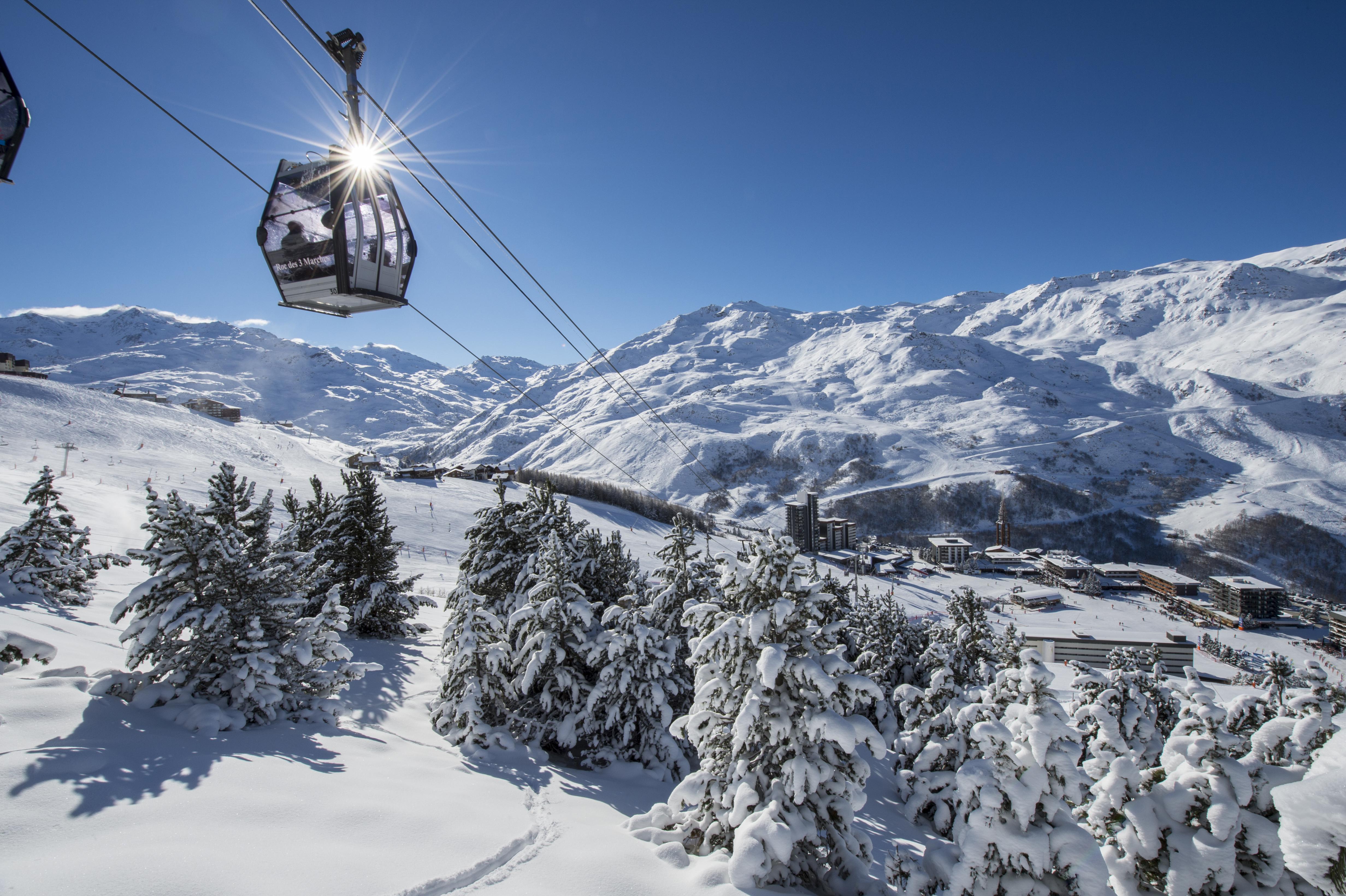 station ski Les Menuires