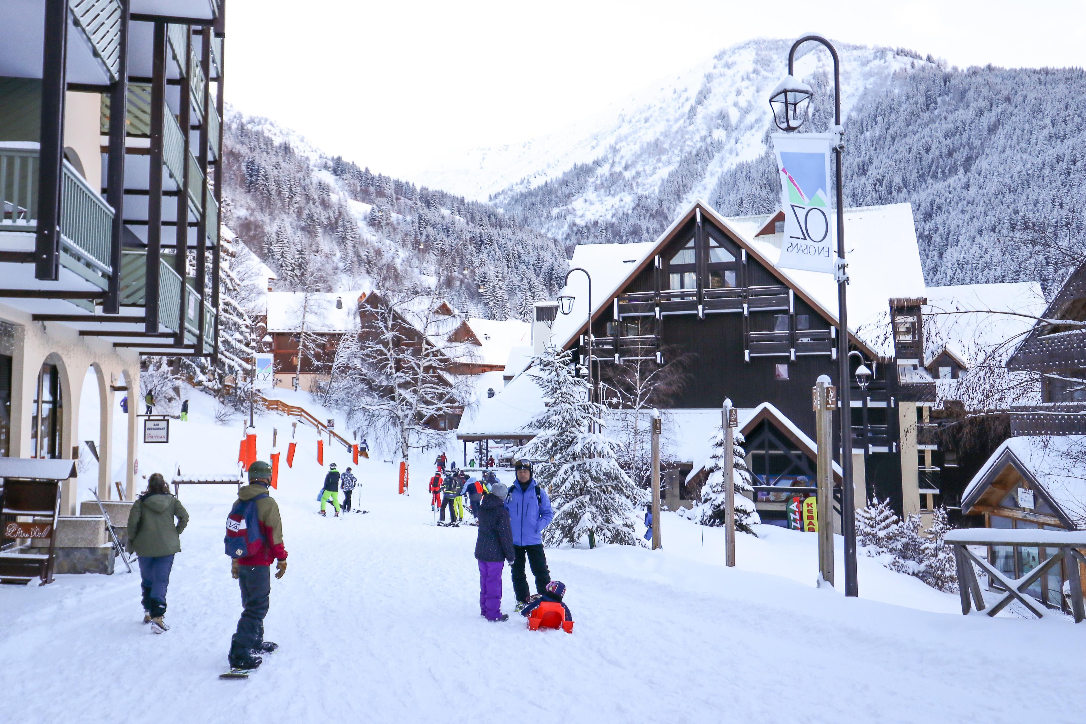 ski resort Oz en Oisans