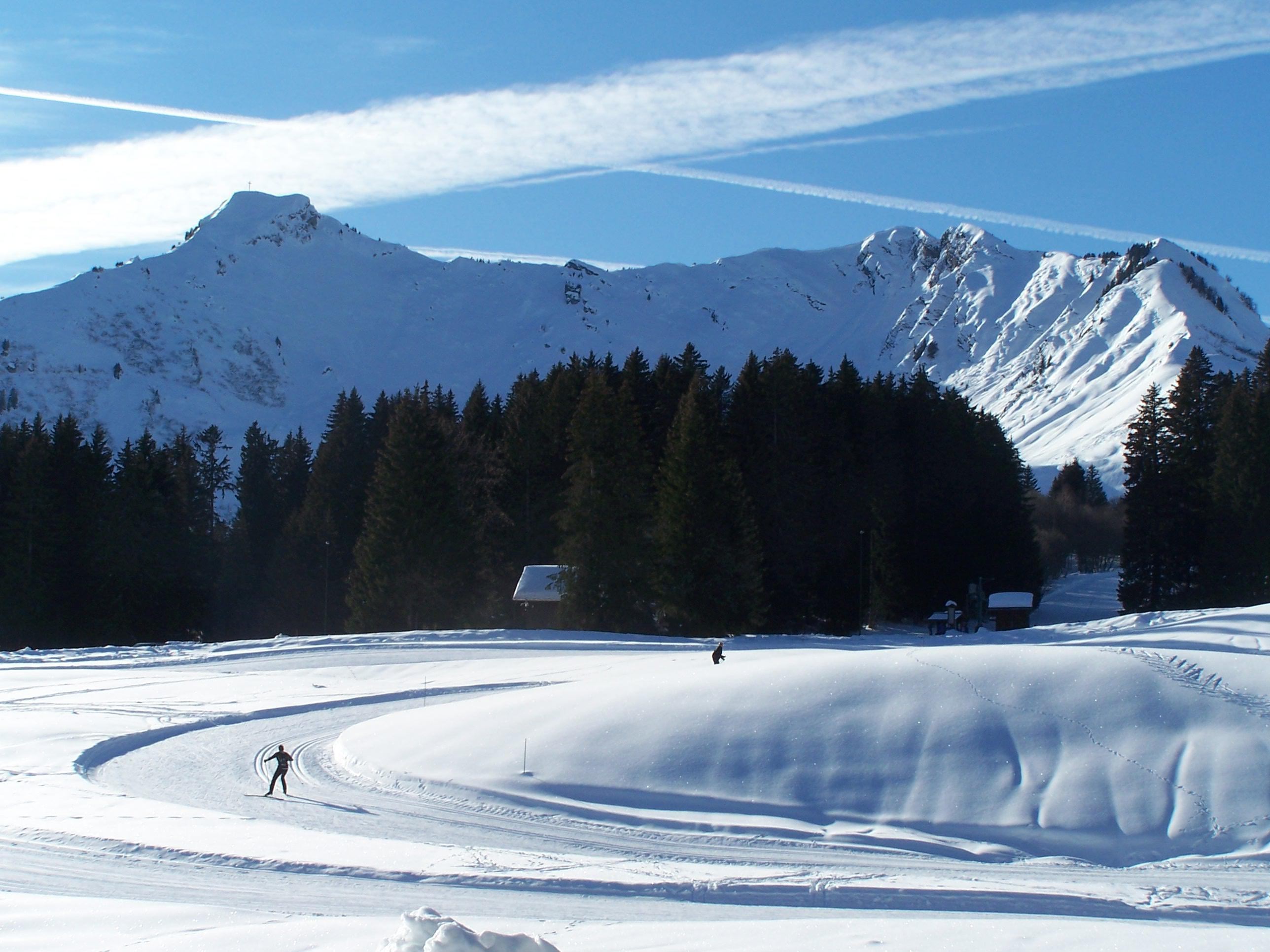 ski resort Le Praz de Lys