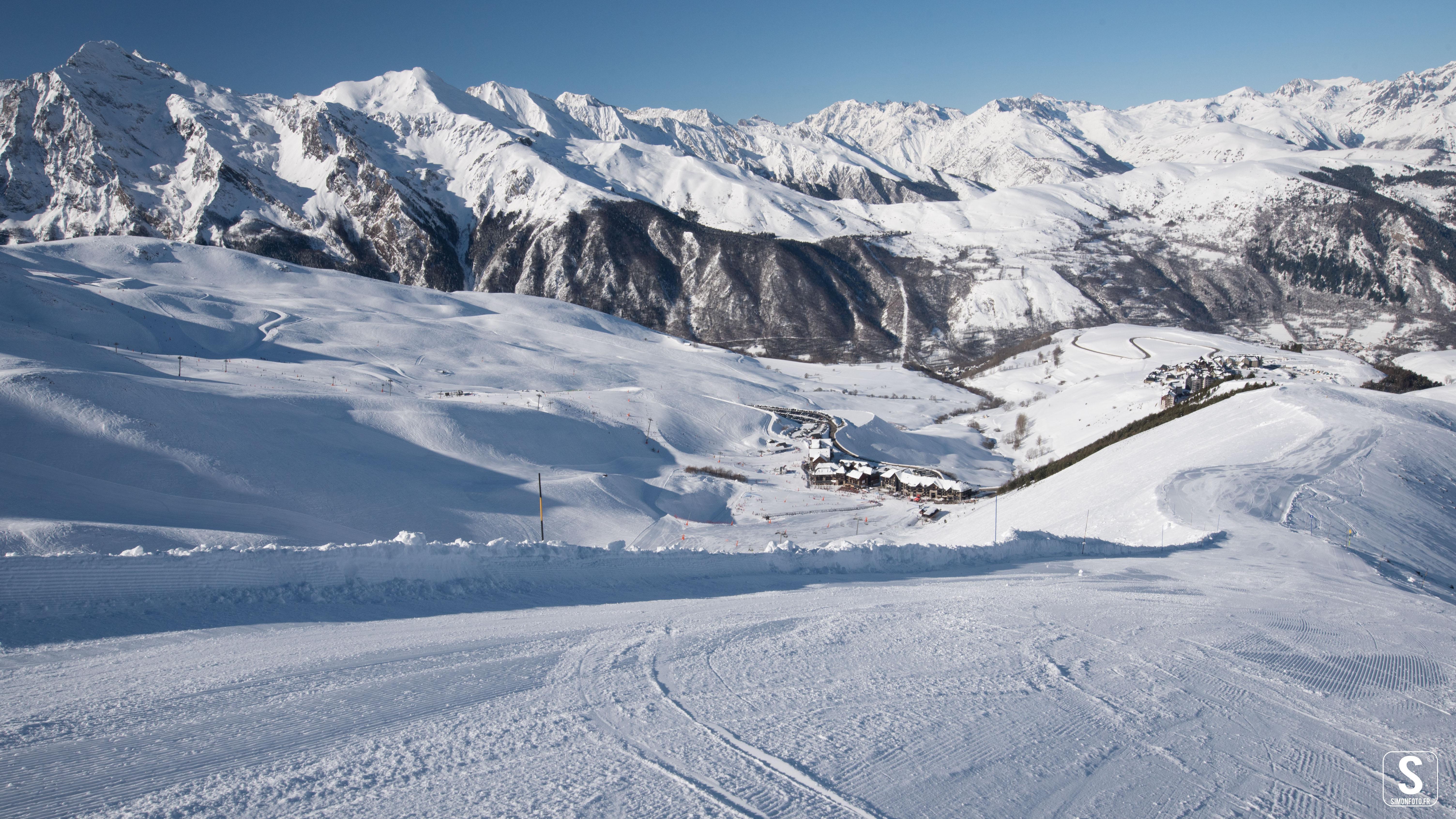 estacion esqui Vaujany