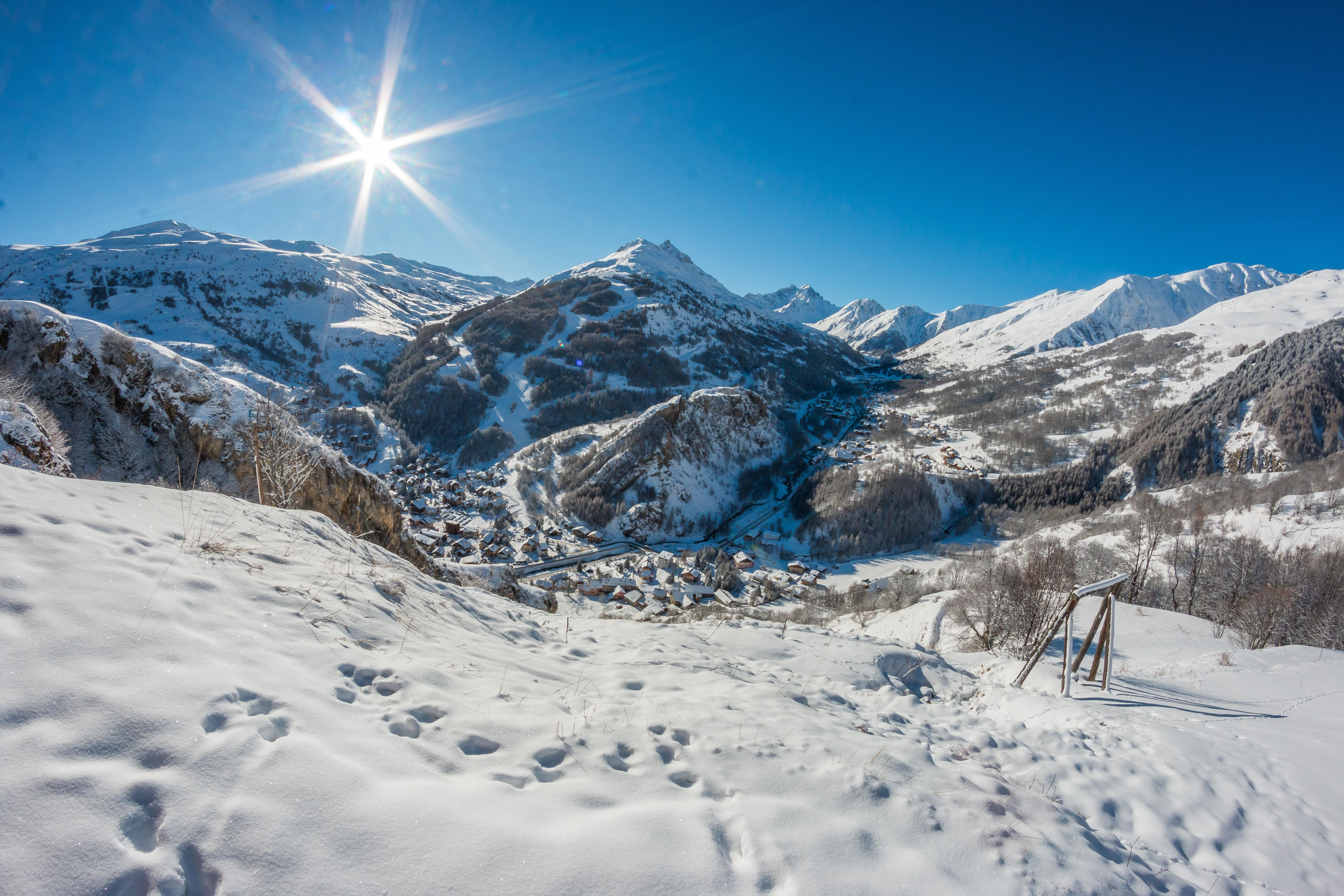ski resort Valloire