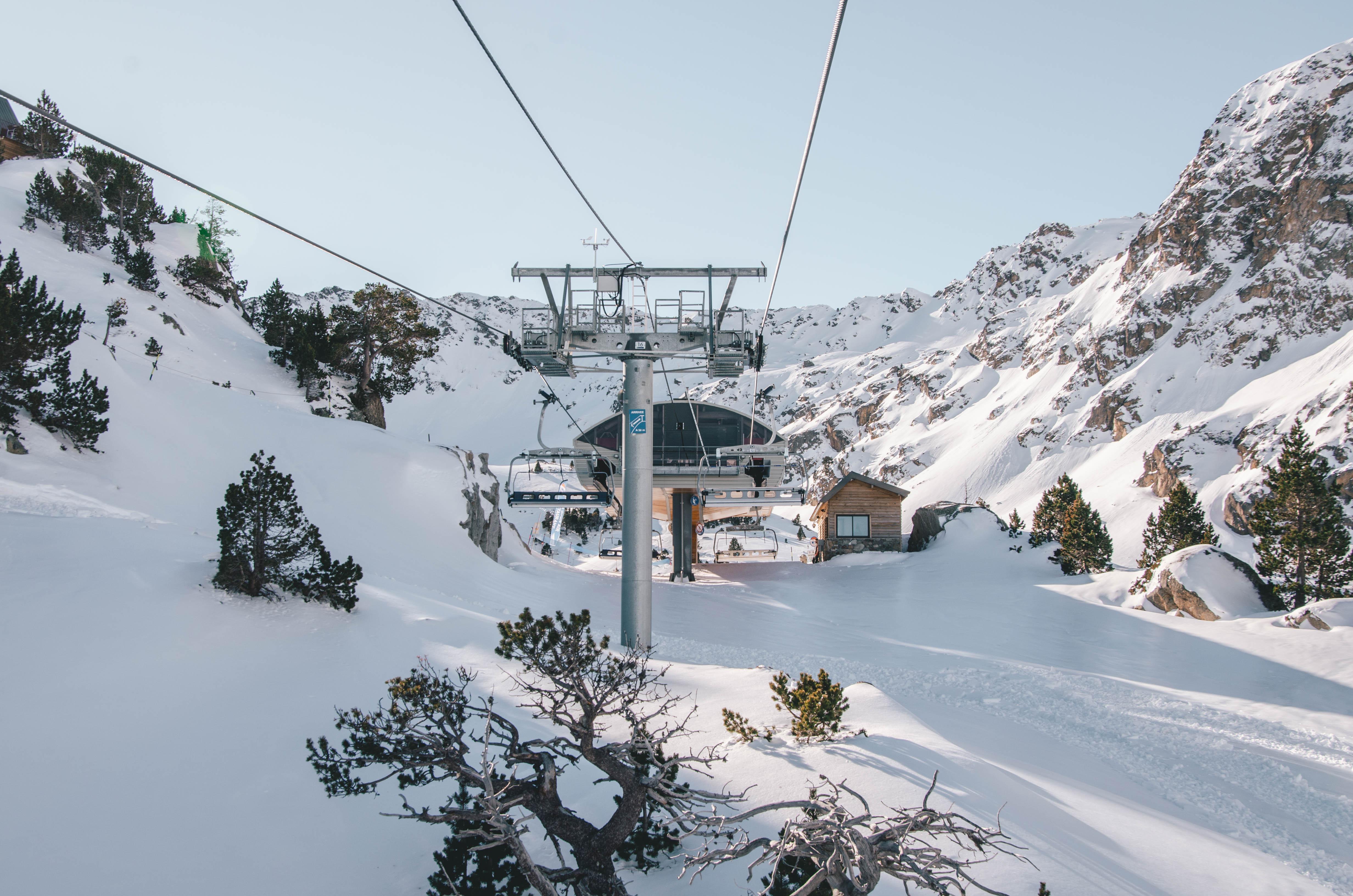 estacion esqui Barèges/La Mongie