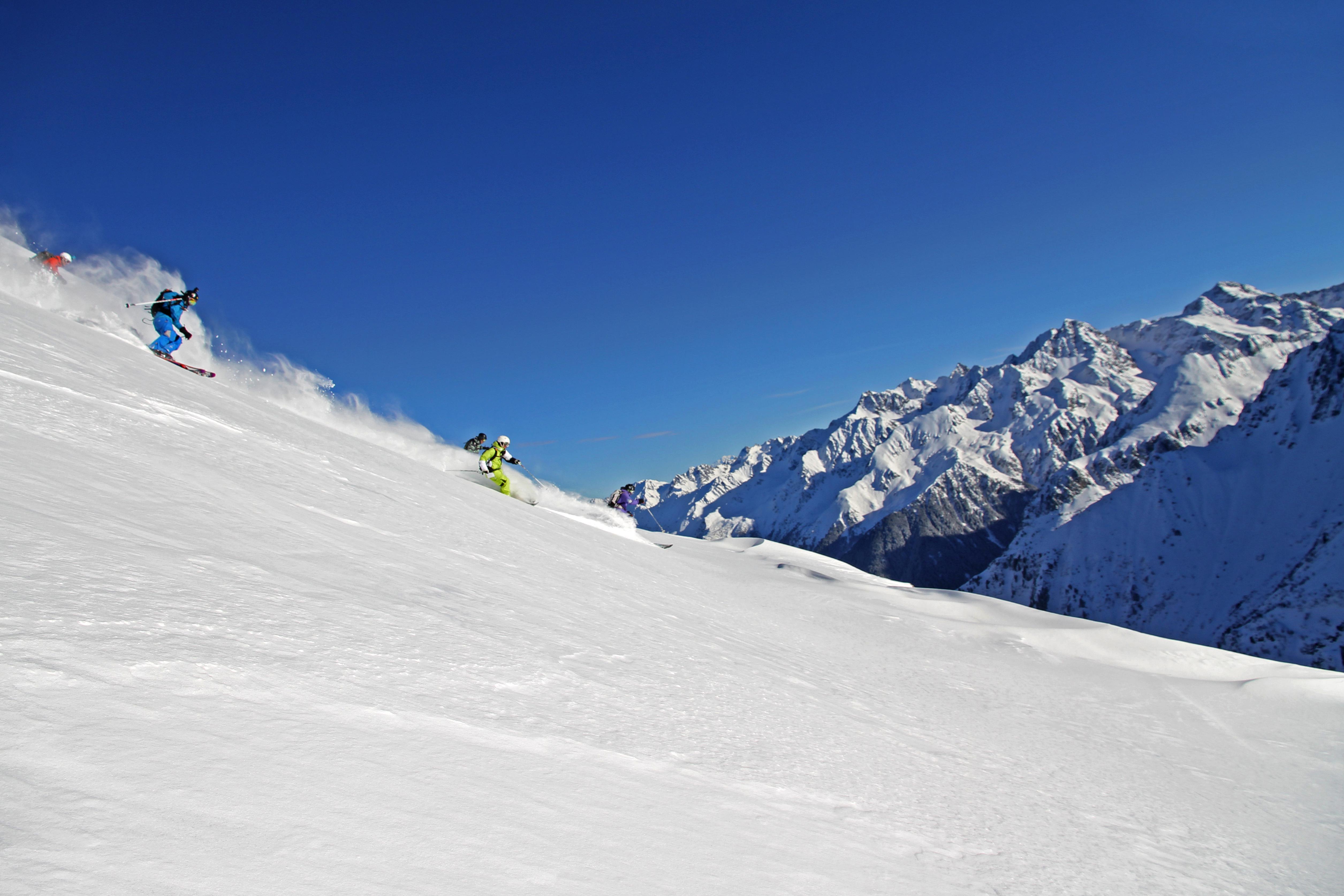 station ski Les 7 Laux