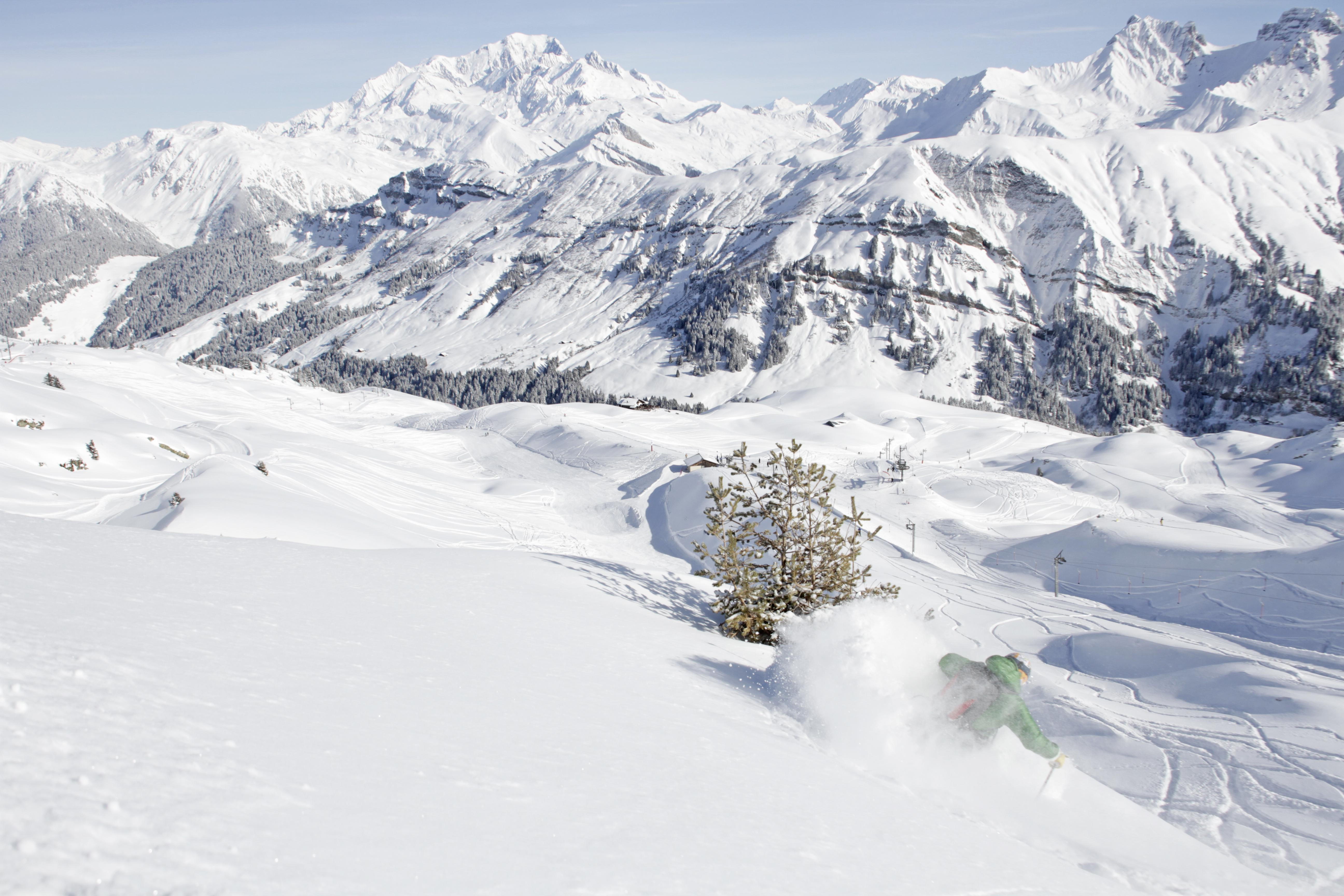 ski resort Arêches-Beaufort
