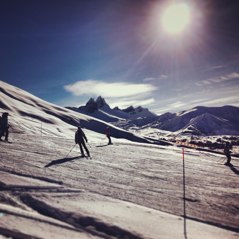 ski resort Albiez Montrond