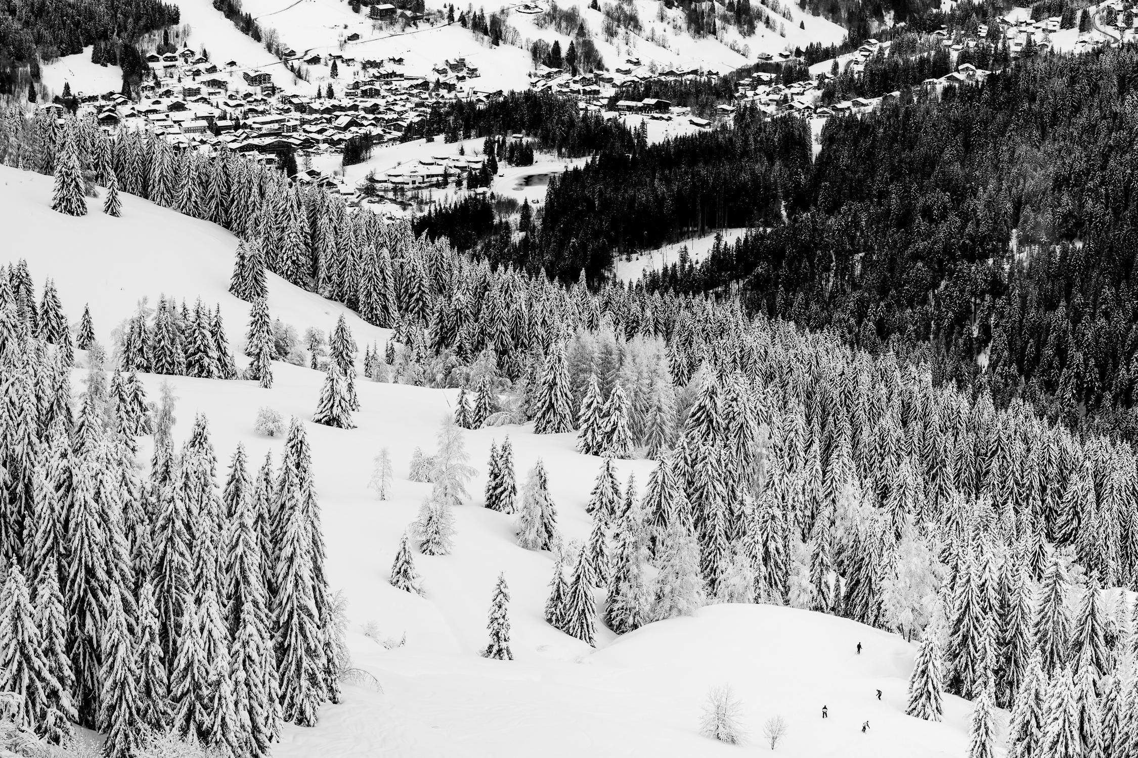 ski resort Les Gets