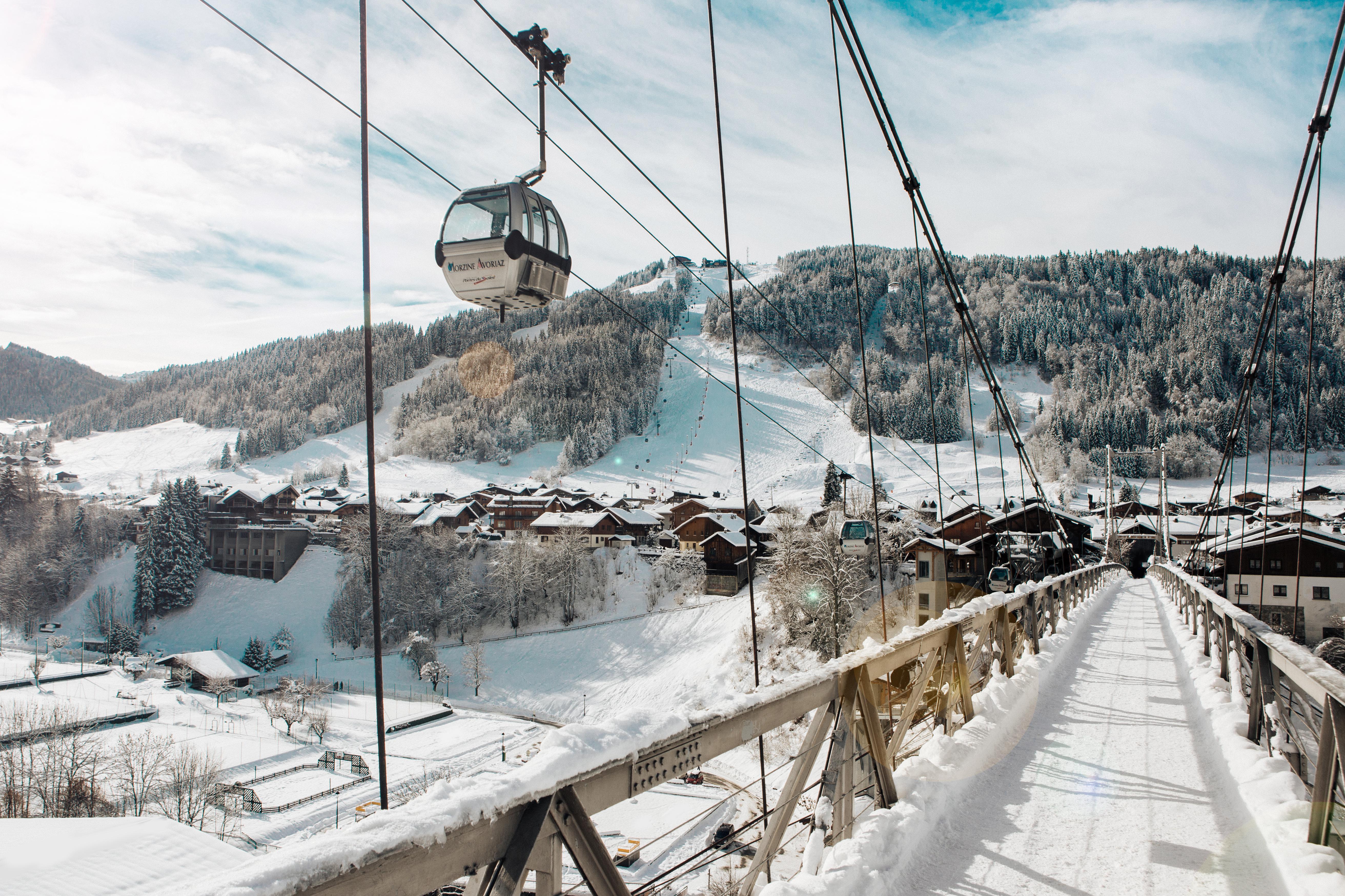 osrodek narciarski Morzine