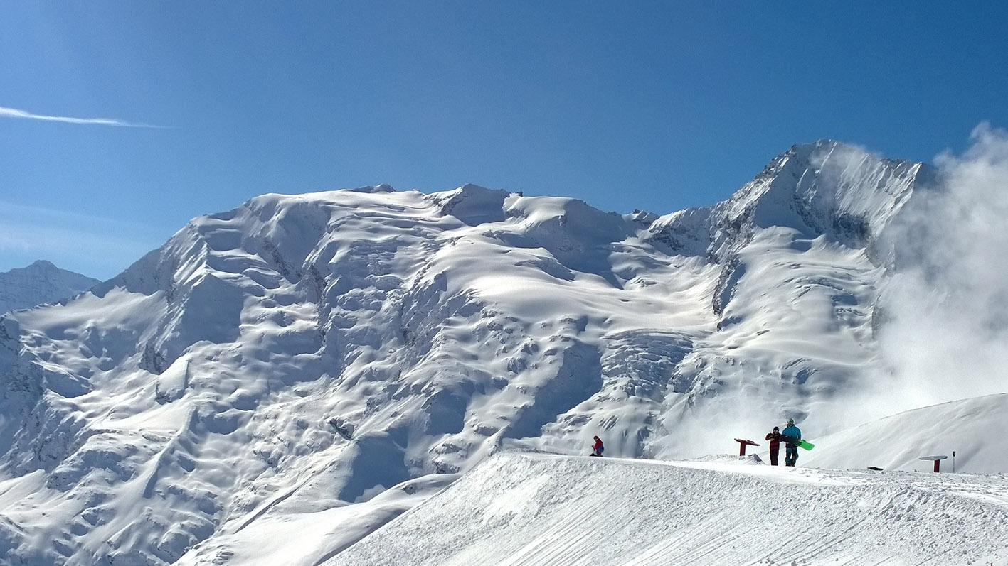 ski resort Sainte Foy Tarentaise
